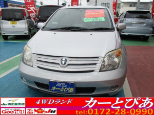 トヨタ イスト 1.5F Lエディション CDオーディオ 4WD キーレス