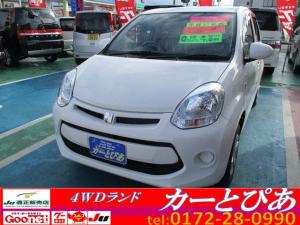トヨタ パッソ X Lpkg スマートキー 横滑り防止装置 寒冷地仕様4WD
