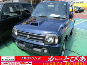 スズキ ジムニー ワイルドウインド CDオーディオ キーレス 切り替え式4WD