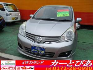 日産 ノート 15X FOUR ナビTV ETC スマートキー 切替4WD