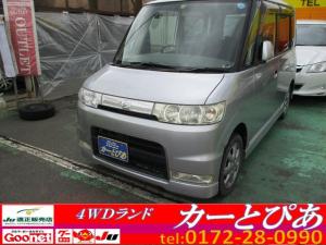 ダイハツ タント カスタムX カーナビ HIDライト フォグ キーレス 4WD