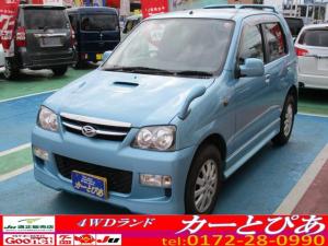 ダイハツ テリオスキッド カスタムX オートマ ターボ CDオーディオ 純正エアロ 背面ハードカバー 切替式4WD