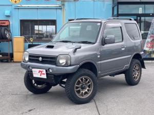 スズキ ジムニー ワイルドウインド 4WD ナビ MT オーディオ付 パワーウィンドウ