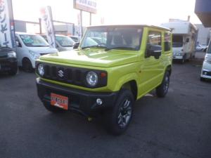 スズキ ジムニー XC 4WD 5速マニュアル 届出済未使用車 LEDライト