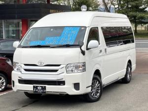 トヨタ ハイエースコミューター GL 4WD 14人乗り ナビ