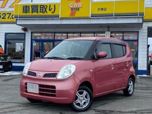 日産 モコ E FOUR 4WD スマートキー シートヒーター オートエアコン 純正オーディオ