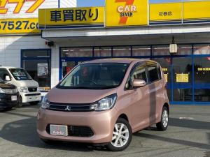 三菱 eKワゴン G 4WD シートヒーター バックカメラ プッシュスタート オートエアコン 電格ミラー