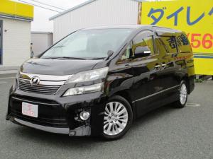 トヨタ ヴェルファイア 2.4Z 4WD アルパインナビ&TV 後席モニター純正AW
