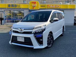 トヨタ ヴォクシー ZS 4WD ワンオーナー LEDライと ナビ TV バックカメラ 新品タイヤ