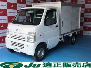 スズキ キャリイトラック KCエアコン・パワステ 保冷バン オートマ 4WD