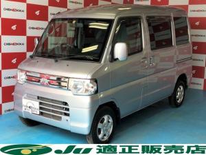 三菱 ミニキャブバン ブラボー ターボ車 ナビ フルセグTV アルミ 4WD