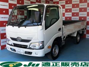 トヨタ ダイナトラック Sシングルジャストロー 平ボディ 4WD 普通免許可 積載1350kg
