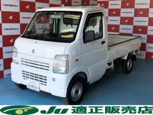 スズキ キャリイトラック KC エアコン パワステ 4WD