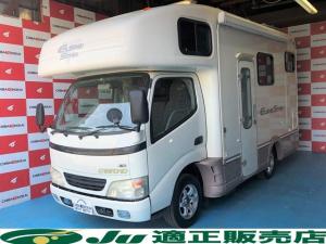 トヨタ ダイナトラック カムロード グローバル ユーロスター キャンピング 4WD