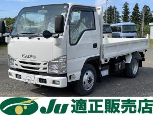 いすゞ エルフトラック ダンプ 2t 三方開 標準ダンプ 4WD