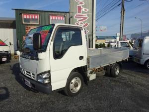 いすゞ エルフトラック 4WD 平ボディー アルミブロック 1.25t