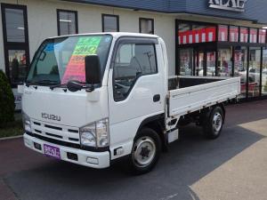 いすゞ エルフトラック フルフラットロー 4WD 木製荷台 積載量1500kg