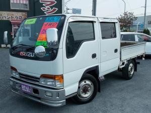 いすゞ エルフトラック Wキャブ 4WD 積載量1250kg