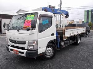 三菱ふそう キャンター  タダノ4段クレーン ラジコン フックイン 積載量3400kg ETC