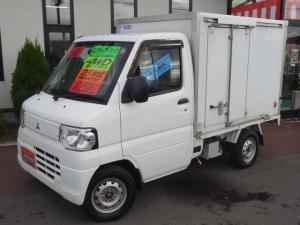 三菱 ミニキャブトラック  冷蔵冷凍車 4WD パワステ エアコン -5℃〜25℃調節可能 ラジオデッキ