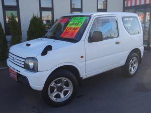 スズキ ジムニー XG 4WD ターボ 社外16インチアルミ 背面タイヤ キーレス Wエアバック ABS