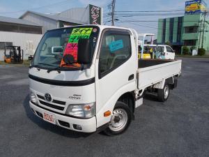 トヨタ ダイナトラック ロングシングルジャストロー 4WD マニュアル 木製荷台 パワステ パワーウィンドウ エアコン エアバック ABS