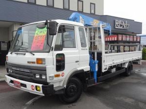 UDトラックス コンドル  2WD 6速マニュアル 7000cc 3人乗り タダノ6段クレーン ラジコン パワステ