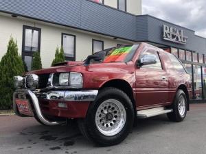 いすゞ ミュー タイプX 4WD ヒッチメンバー フロントガード タイベル交換済み193500km 背面タイヤ 電動格納ミラー CDデッキ ETC