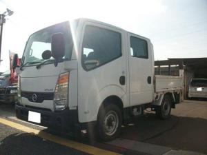 日産 アトラストラック WキャブショートフルスーパーローDX 4WD 5速 パワーゲート付き ディーゼル