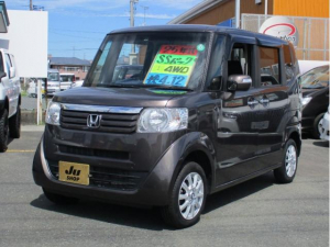 ホンダ N-BOX G SSパッケージ 4WD ワンオーナー車 純正ナビ