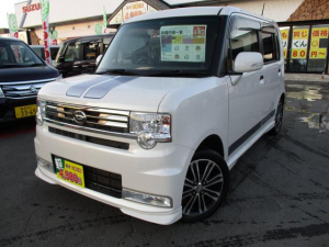 ダイハツ ムーヴコンテ カスタム X VS 4WD エコアイドル スマートキー 純正エアロ