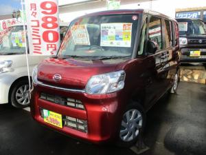 ダイハツ タント L SAIII 4WD ナビ・CD エコアイドル シートヒーター