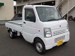 スズキ キャリイトラック KCエアコン・パワステ Hi-Lo切替4WD エアコン・パワステ