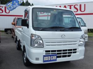 マツダ スクラムトラック KCエアコン・パワステ 5速マニュアル 4WD エアコン パワステ エアバック ラジオ