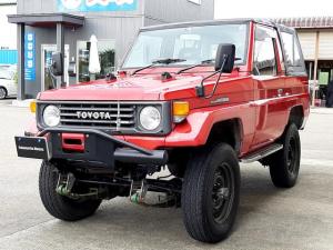 トヨタ ランドクルーザー70 STD 幌タイプ ディーゼル 4WD AARセミバケット 公認足回り