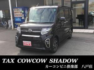 ダイハツ タント カスタムX 4WD スマートアシスト バックカメラ シートヒーター 両側電動スライド スライドドアタイマー スーパーシートスライド