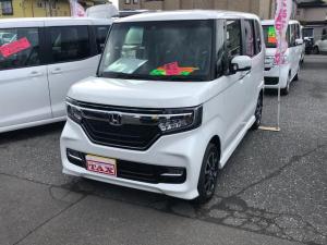 ホンダ N-BOXカスタム L 4WD ETC バックカメラ シートヒーター 電動スライドドア ホンダセンシング