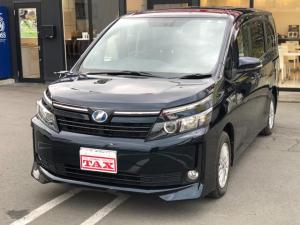 トヨタ ヴォクシー ハイブリッドV ナビ TV DVD Bluetooth バックカメラ ETC エンジンスターター ドライブレコーダー 置くだけ充電器 シートヒーター 両側電動スライドドア 寒冷地仕様