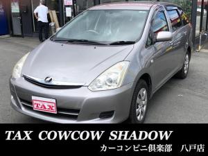 トヨタ ウィッシュ X 4WD 7人乗り オートエアコン