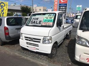 ホンダ アクティトラック アタック 4WD 5MT 軽トラック 保証付 パワステ