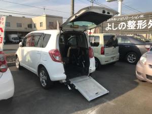 トヨタ ラクティス X ウエルキャブ 福祉車両 CVT オーディオ付 5名乗り