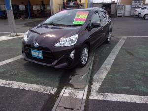 トヨタ アクア G 2WD ワンオーナー プッシュスタート CD