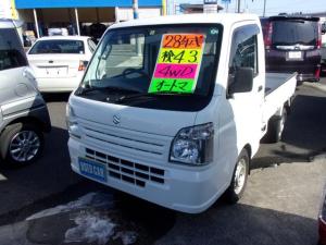 スズキ キャリイトラック  エアコン パワステ付き 4WDオ-トマ(マニュアルモ-ド付き)