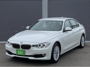 BMW 3シリーズ 320iラグジュアリー 正規ディーラー記録簿完備 禁煙車 シートヒーター 電動本革シート パーキングセンサー インテリジェントセーフティ Bカメラ BT レーンディパーチャーウォーニング ETC HID コンフォートアクセス