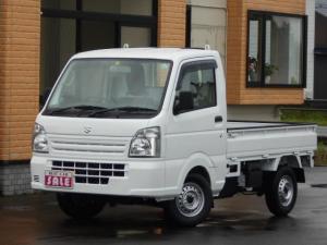 スズキ キャリイトラック KCエアコン・パワステ4WD 4枚強化スプリング