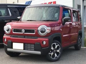 スズキ ハスラー ハイブリッドX 4WD 届出済未使用車 スズキセーフティサポート LEDライト オートライト 純正アルミホイール