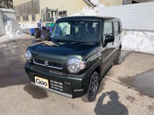 スズキ ハスラー ハイブリッドG 4WD スズキセーフティサポート シートヒーター 届出済未使用車 車検R5年10月
