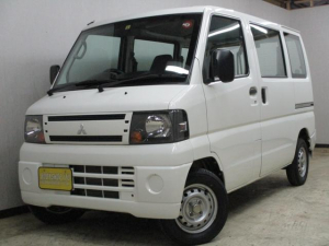 三菱 ミニキャブバン CD 4WD 社外ナビ ETC