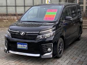 トヨタ ヴォクシー ZS 左側パワースライドドア ナビTV Bluetooth フルセグ LEDヘッドライト バックカメラ オートヘッドライト オートエアコン リアヒーター リアエアコン ETC スマートキー プッシュスタート