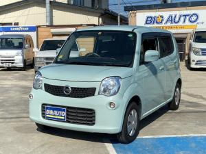 日産 モコ X FOUR 4WD 関東使用車 ナビ・TV Bluetooth シートヒーター スマートキー プッシュスタート エアバッグ オートエアコン ETC ABS